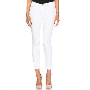 Rag & Bone Capri White Jeans